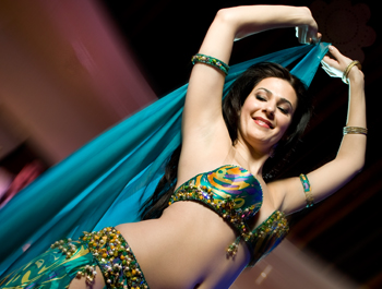 Belly Dancer at Al Tannour