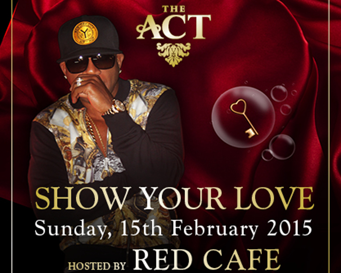 Show your love this Valentines at The ACT - DUBAI on Sunday 15th of February