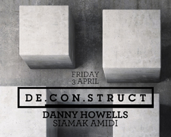 International Underground DJ Danny Howells playing at De.Con.Struct