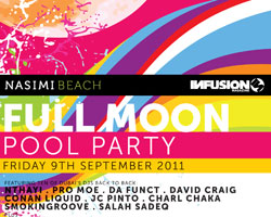 Nasimi Beach Full Moon Pool Party
