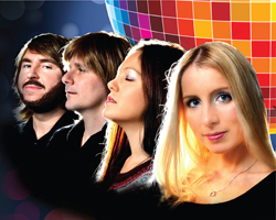 ABBA REVIVAL THE TRIBUTE, WINNER OF THE NATIONAL TRIBUTE AWARDS, LIVE ON THE PYRAMIDS ROOFTOP GARDENS, WAFI