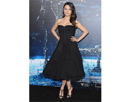 Mila Kunis wears Gemfields Mozambican rubies for world premiere of Jupiter Ascending