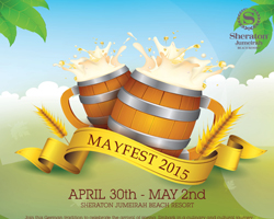 Mayfest is back at the Sheraton Jumeirah Beach Resort